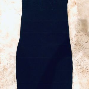 BB Dakota Black Mini Panel Dress Size Small
